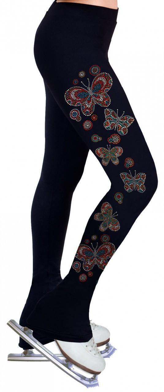 Skating Pants with Rhinestone – R206