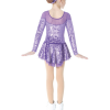 Mondor 2760 Puple Dress Back
