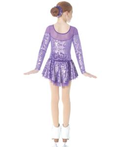 Mondor 2760 Puple Dress Back